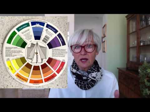Farben kombinieren mit dem Farbrad