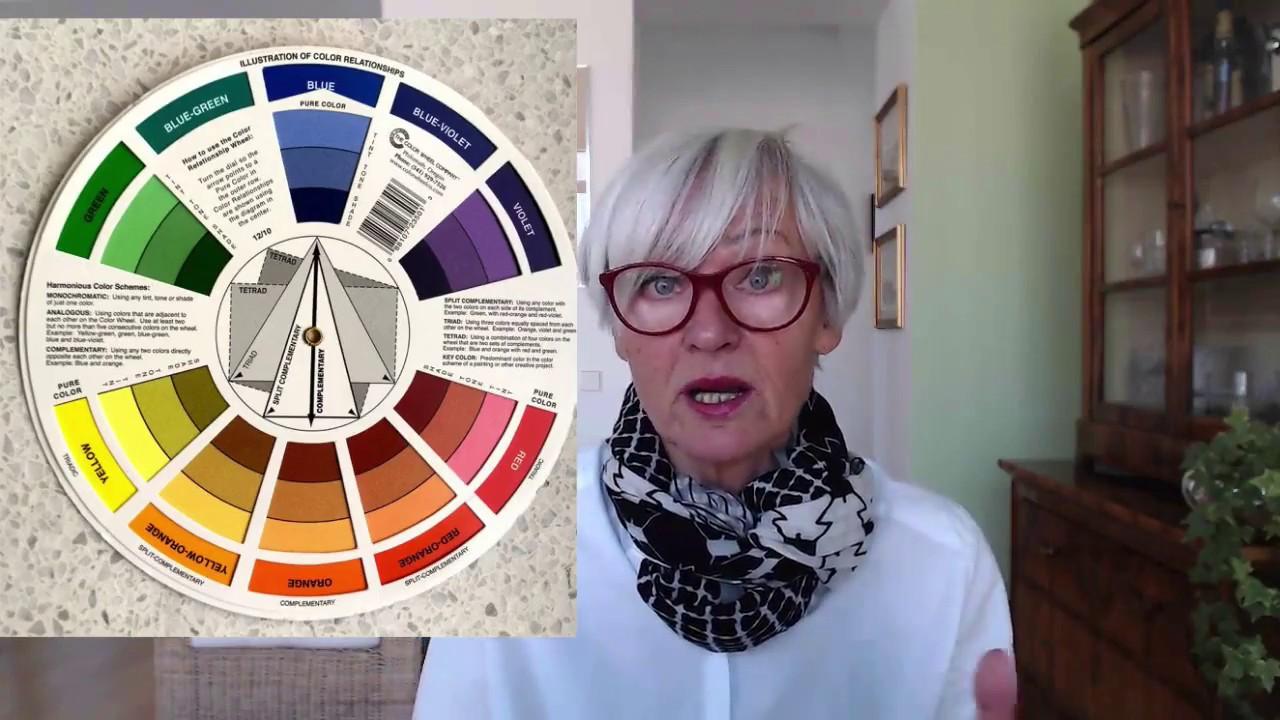 farben kombinieren mit dem farbrad youtube. Black Bedroom Furniture Sets. Home Design Ideas