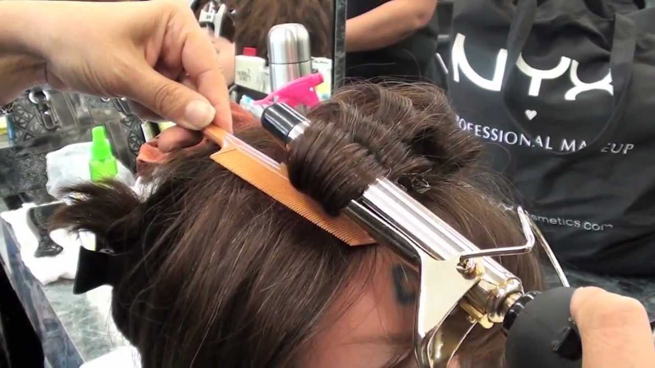 Cosmetology Curling Iron Procedure For State Board Youtube