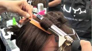 COSMETOLOGY: CURLING IRON PROCEDURE for STATE BOARD