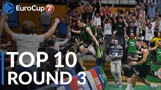 7DAYS EuroCup Regular Season Round 3 Top 10 Plays