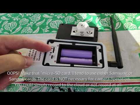 Solar Powered 1080p PIR Waterproof IP67 Camera