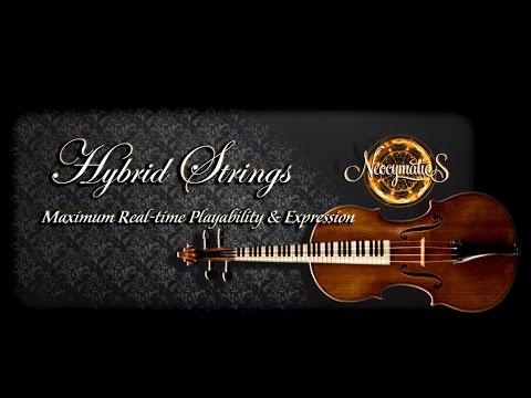 Neocymatics hybrid strings كمانات شرقية للكونتاكت youtube.