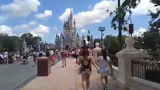 Monorail To Magic Kingdom 6-18-17