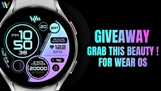 Giveaway - watch face for WEAR…
