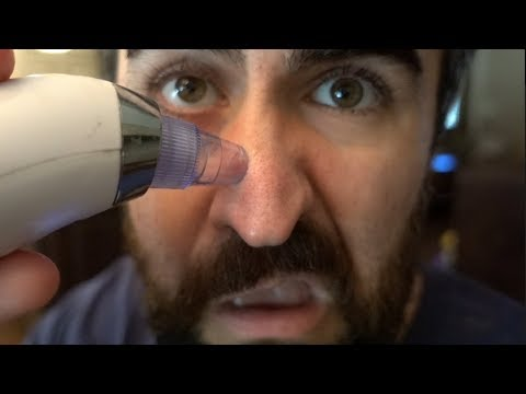 Blackhead Sucking Vacuum Removal | Weird Things Online