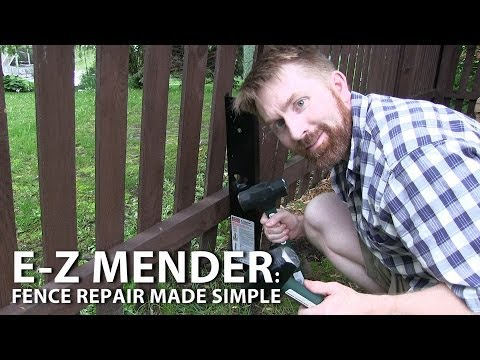 E Z Mender Fence Repair Made Simple By Simpson Strong