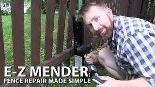 E-z Mender - Fence Repair Made Simple By Simpson Strong-tie