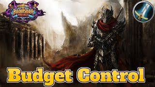 [Legend] Budget Control Warrior The Boomsday Project | Hearthstone Guide How To Play