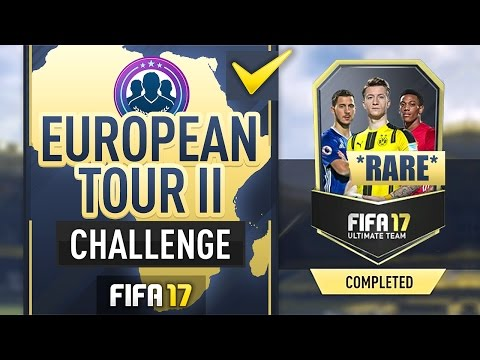 European Tour II Squad Builder Challenge - FIFA17