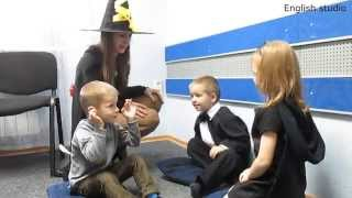 Halloween. 2 Active Games For 3-4 Years Old.