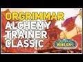 Orgrimmar Alchemy Trainer WoW Classic