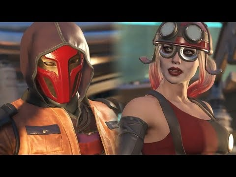 Injustice 2 - Red Hood Savage Interaction Intro Dialogues Part 3