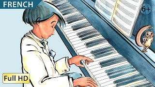 """The Little Pianist : Learn French with Subtitles - Story for Children """"BookBox.com"""""""