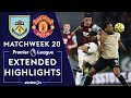 Burnley v. Manchester United | PREMIER LEAGUE HIGHLIGHTS | 12/28/19 | NBC Sports