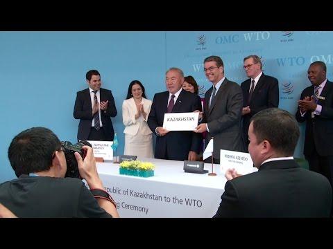 WTO welcomes Kazakhstan