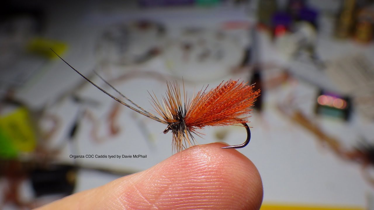Tying The Organza Cdc Caddis By Davie Mcphail