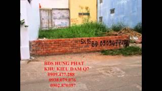 bán đất quận 7 khu kiều đàm quận 7 giá cực rẻ lh 0909477288 bán nhà kiều đàm