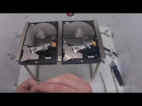Western Digital WD20EURS Head Swap - Affordable Clean Room Data Recovery by $300 Data Recovery