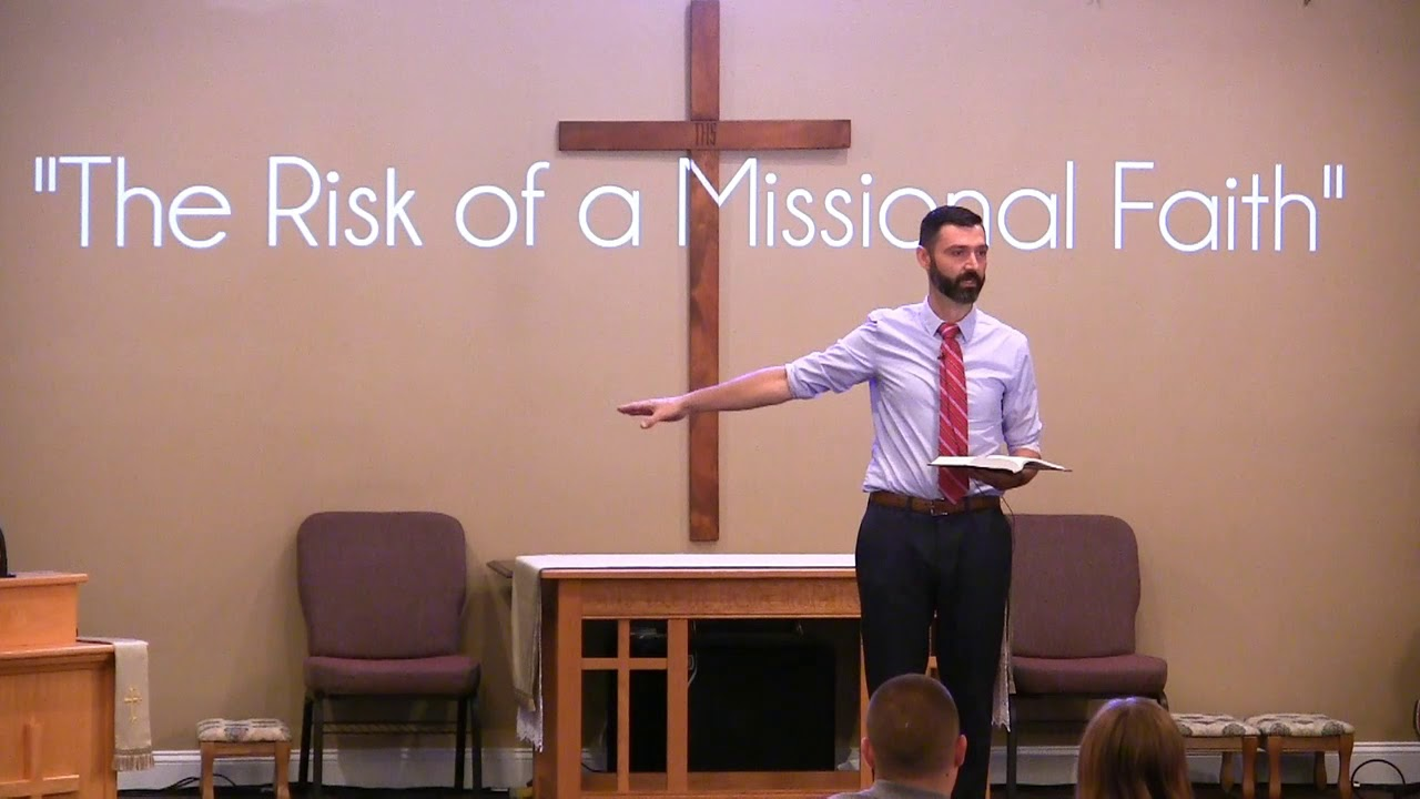 Video Sermons - The Risk of Missional Living - New Hope Christian Chapel
