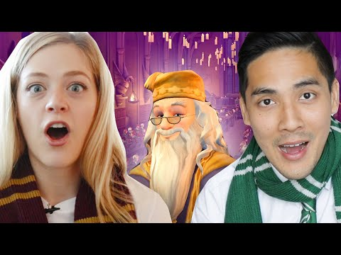 Harry Potter Fans Play The New Mobile Hogwarts Game