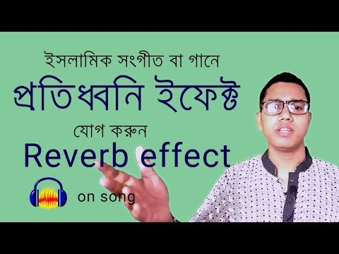 Delay sound effect (Part -01) | Reverb sound effect on song using Audacity | Bangla Tutorial