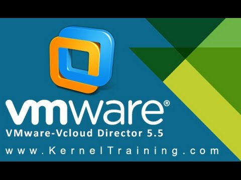 VMware vcloud director 5.5 video training tutorial For Beginners