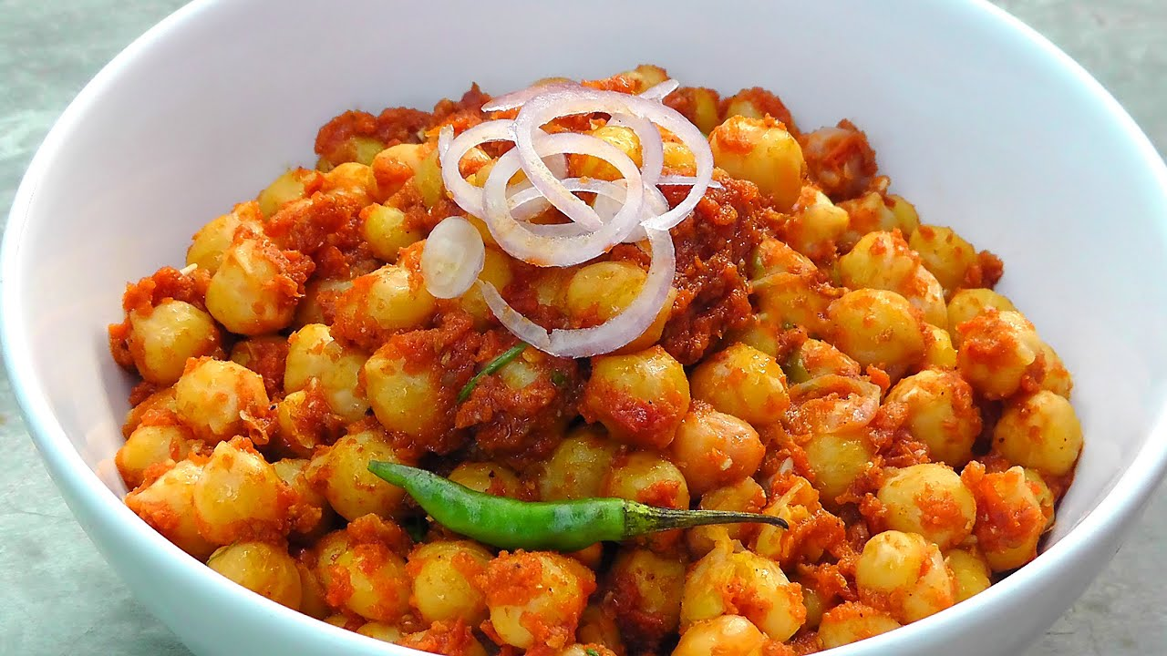 Indisches Kichererbsen Curry - Chana Masala - Vegan Vegetarisches ...