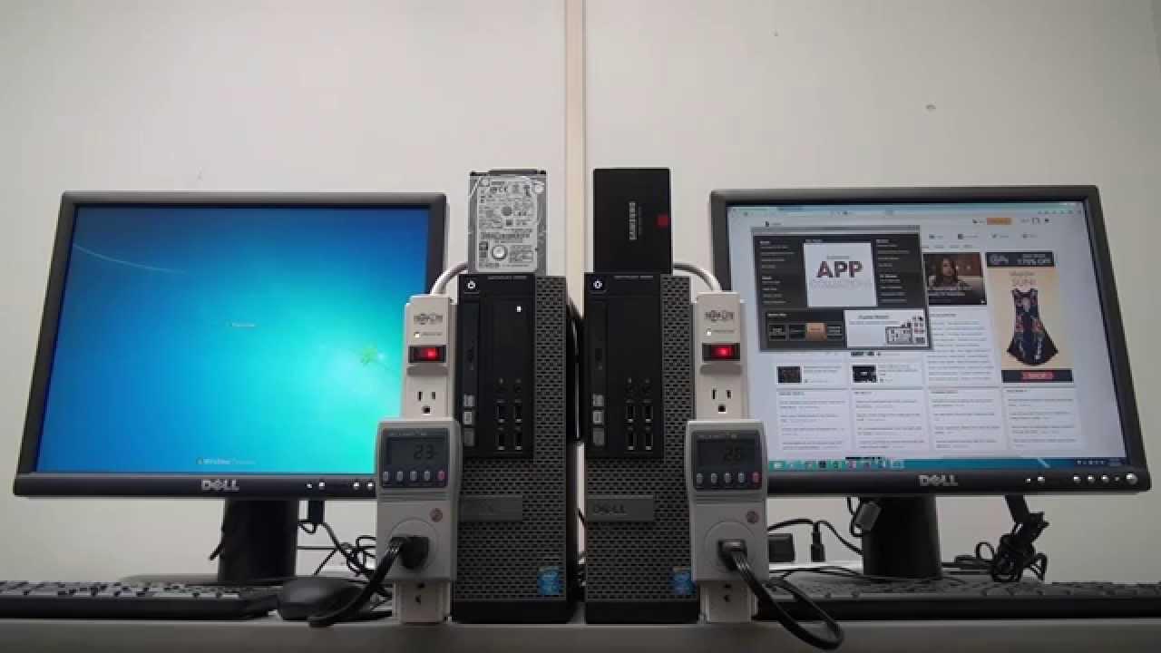 Drive Comparison: Dell OptiPlex 9020 SFF Desktops - YouTube