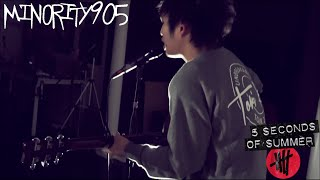 5 Seconds Of Summer Long Way Home Minority 905 Acoustic Cover