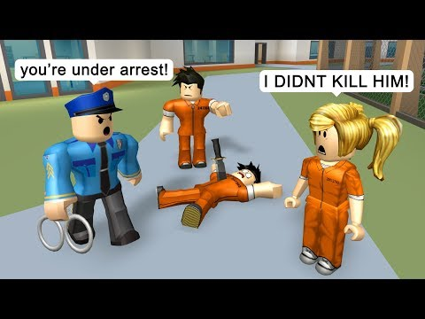 This Prank Got Her Arrested Roblox Jailbreak Roleplay Youtube