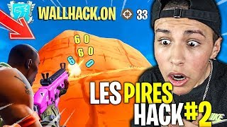 CLIQUE to SEE THE HACKER PIRES on FORTNITE BATLLE ROYALE!! (I react to the fortnite #2 hack)