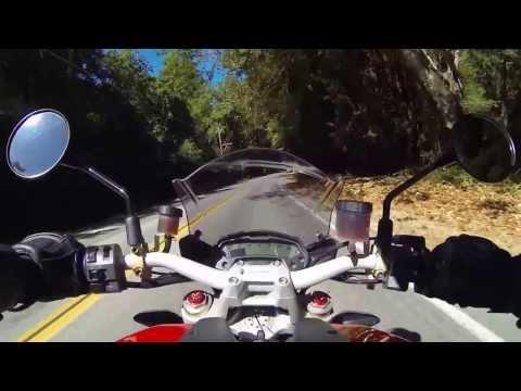 Highway 1 Big Sur (2013 Ducati M1100 Evo 20th Anniversary)
