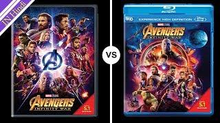 Amazon.in Buy Avengers Infinity War  Blu-ray vs DVD AG Media News