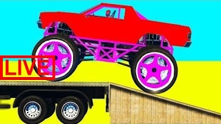 Color Cars Monster Truck Spiderman Cartoon for Kids & Superheroes for Babies Nursery Rhymes So #JAB