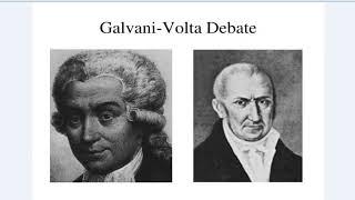 История открытия. Гальвани vs Вольта. История жизни и соперничества.