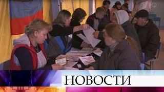 В самопровозглашенных ЛНР и ДНР подводят итоги состоявшихся накануне выборов.