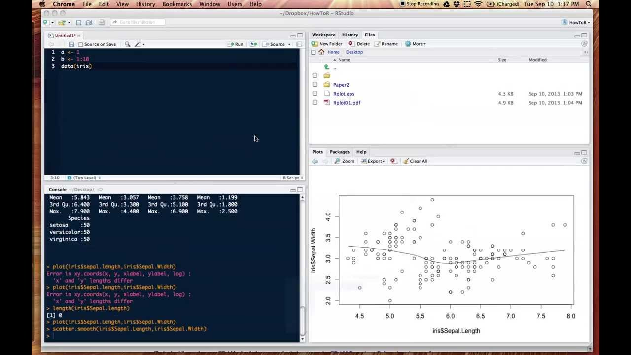 Getting started with R and RStudio  YouTube