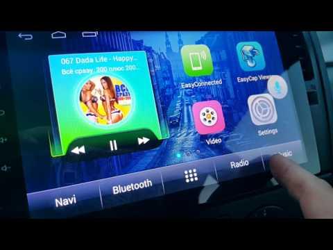 обзор магнитолы-планшет 9 дюймов Nissan Tiida