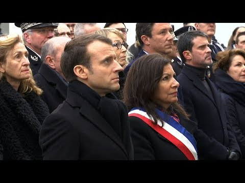 France mourns third anniversary of Charlie Hebdo attack