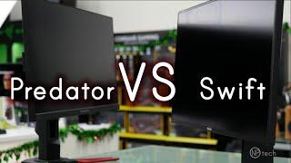 Acer Predator XB271hu vs Asus ROG PG279Q Review & Comparison video