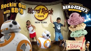 rockin out with star wars sphero bb 8 in new york city something rotten