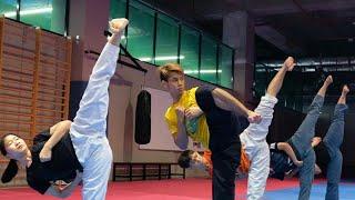 The best Taekwondo Performance - أروع مقاطع التايكواندو لسنة 2020 فرجة ممتعة