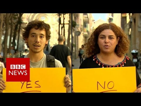 Catalan referendum: Yes or No? - BBC News