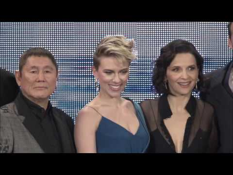 GHOST IN THE SHELL Tokyo Premiere Red Carpet - Scarlett Johansson, Beat Takeshi Kitano