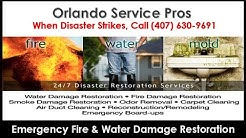 Fire and Water Damage Restoration Bay Hill FL (407) 630-9691 Smoke Fire Damage Repair