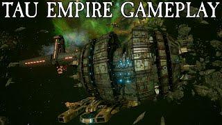 Video Tau Empire Gameplay - Battlefleet Gothic: Armada download MP3, 3GP, MP4, WEBM, AVI, FLV Januari 2018
