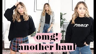 OMG ANOTHER HAUL & TRY ON | SOPHIE MILNER | FASHION SLAVE