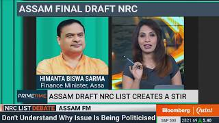 Primetime Debate: Assam FM On The Draft NRC List