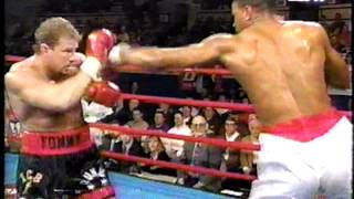 Tommy Morrison vs. Marcellus Brown